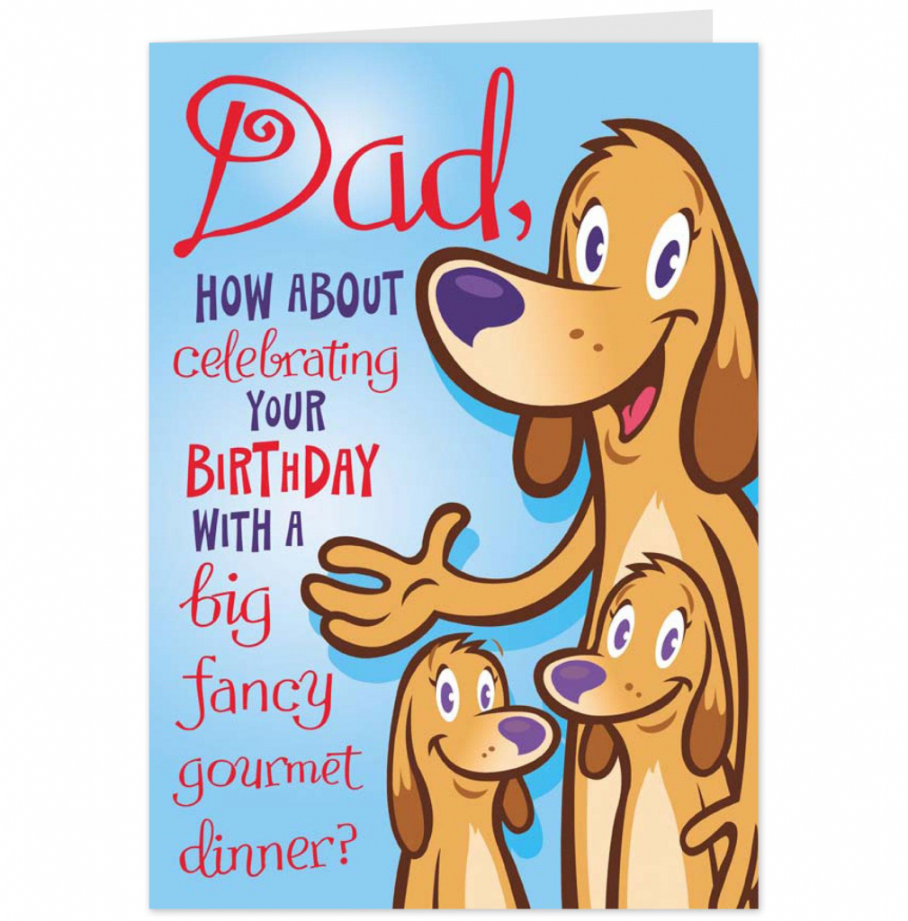 Funny Printable Birthday Cards For Dad – Happy Holidays! | Printable Birthday Cards For Dad