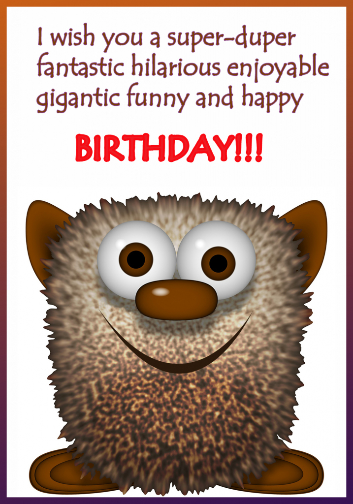 Funny Printable Birthday Cards | Free Printable Funny Birthday Cards
