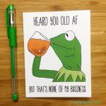 Funny Printable Birthday Cards – Happy Holidays! | Funny 18Th Birthday Cards Printable