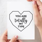 Funny Valentine's Day Card, Romantic Card, Printable, Boyfriend Card | Valentines Cards For Her Printable