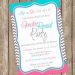 Gender Reveal Invitation Baby Reveal Invite Printable – Example | Printable Gender Reveal Voting Cards