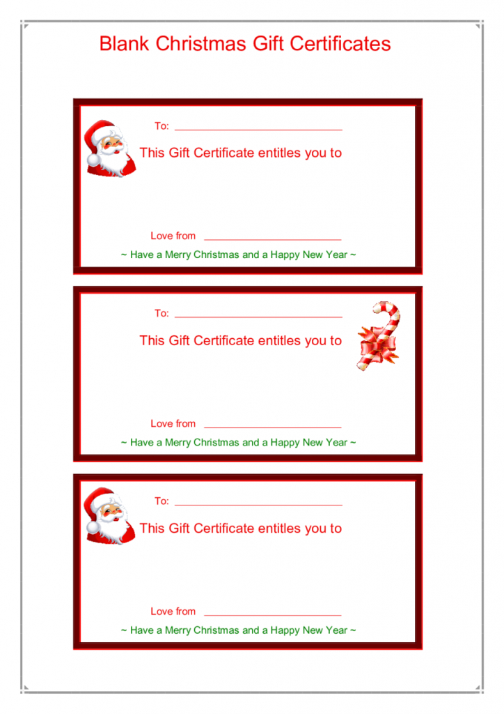 Gift Card Template - Edit, Fill, Sign Online | Handypdf | Printable Gift Card Template