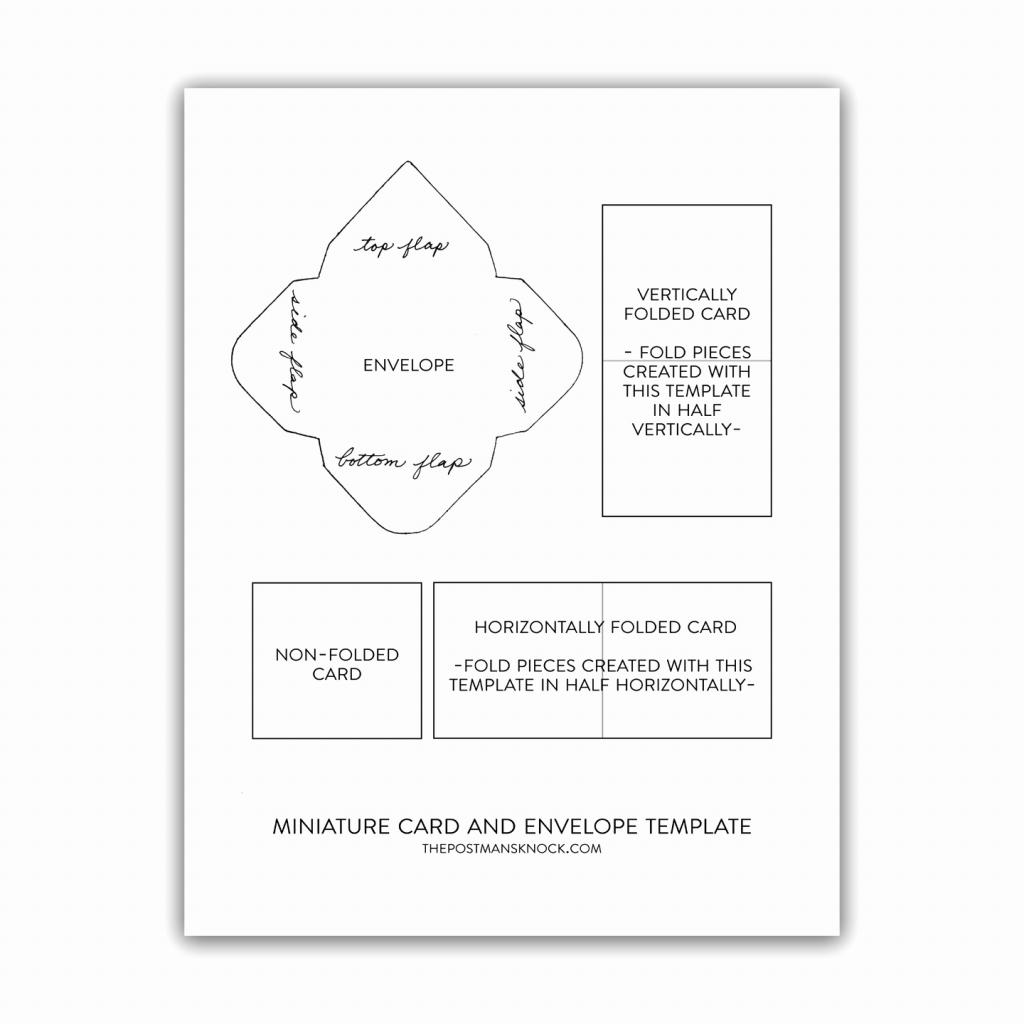 Gift Certificate Envelope Template - Canas.bergdorfbib.co | Gift Card Printable Envelope