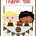 Girls Scouts   Free Printable Brownies Thank You Cards   Cookie | Free Printable Eagle Scout Thank You Cards