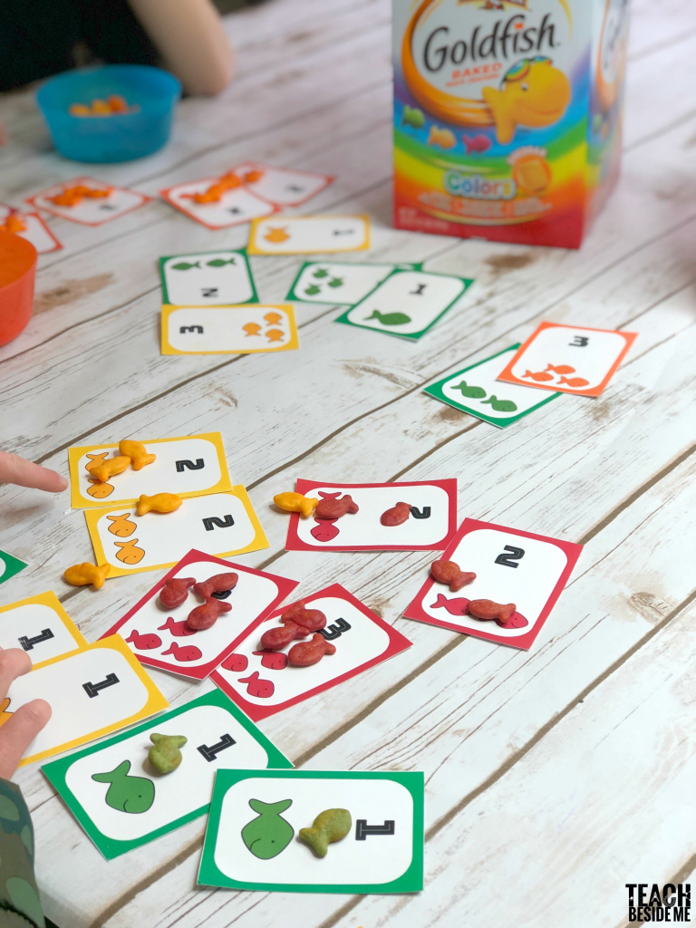 Go Fish Printable Card Game With Goldfish – Teach Beside Me | Printable Go Fish Cards