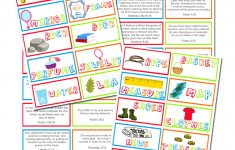 Scripture Memory Cards Printable