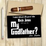 Godfather Card Will You Be My Godfather Card Printable | Etsy | Will You Be My Godfather Printable Card