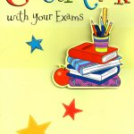 Good Luck With Your Exams Greeting Card | Cards | Printable Good Luck Cards For Exams