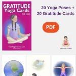 Gratitude Yoga Cards For Kids | Interesting.. | Yoga For Kids | Printable Yoga Cards For Kids