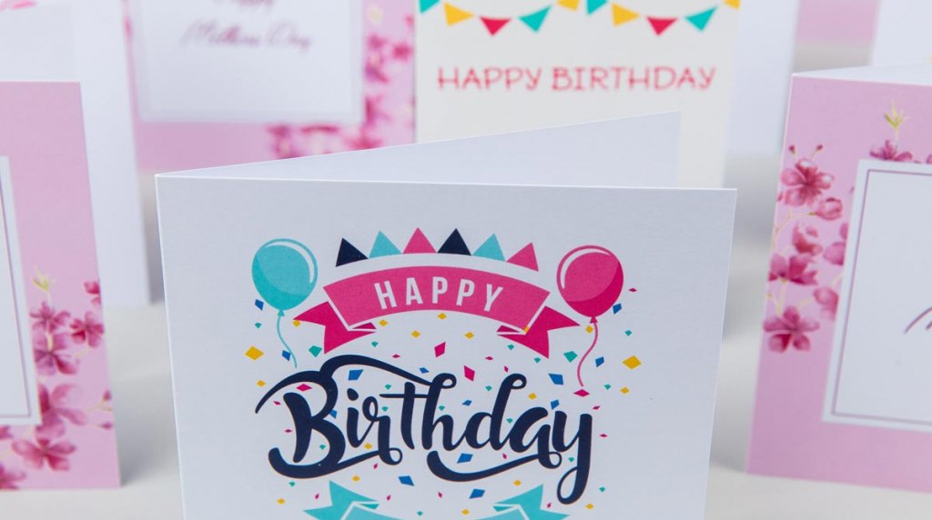 Greeting Card Printing - Greeting Cards Online - Card Printing | Design Your Own Birthday Card Printable