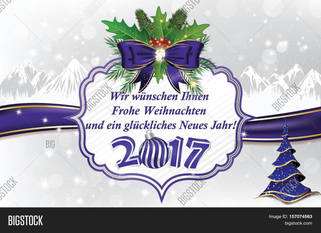 Greeting Card Year Image & Photo (Free Trial) | Bigstock | Free Printable German Christmas Cards