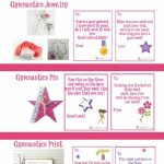 Gymnastics Good Luck Gift Ideas Along With Free Printable Good Luck | Printable Good Luck Cards