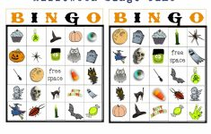 Halloween Bingo Card Creator Halloween Bingo Preschool Printables 11 | Printable Halloween Bingo Cards