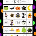 Halloween Bingo - Cute Free Printable Game | Halloween | Halloween | Halloween Picture Bingo Cards Printable