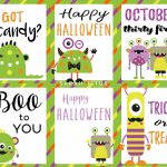 Halloween Free Printable Cards   Sarah Titus | Printable Halloween Cards To Color For Free