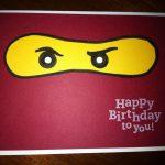 Handmade Ninjago Birthday Card | Cards | Birthday Cards For Boys | Ninjago Printable Birthday Card