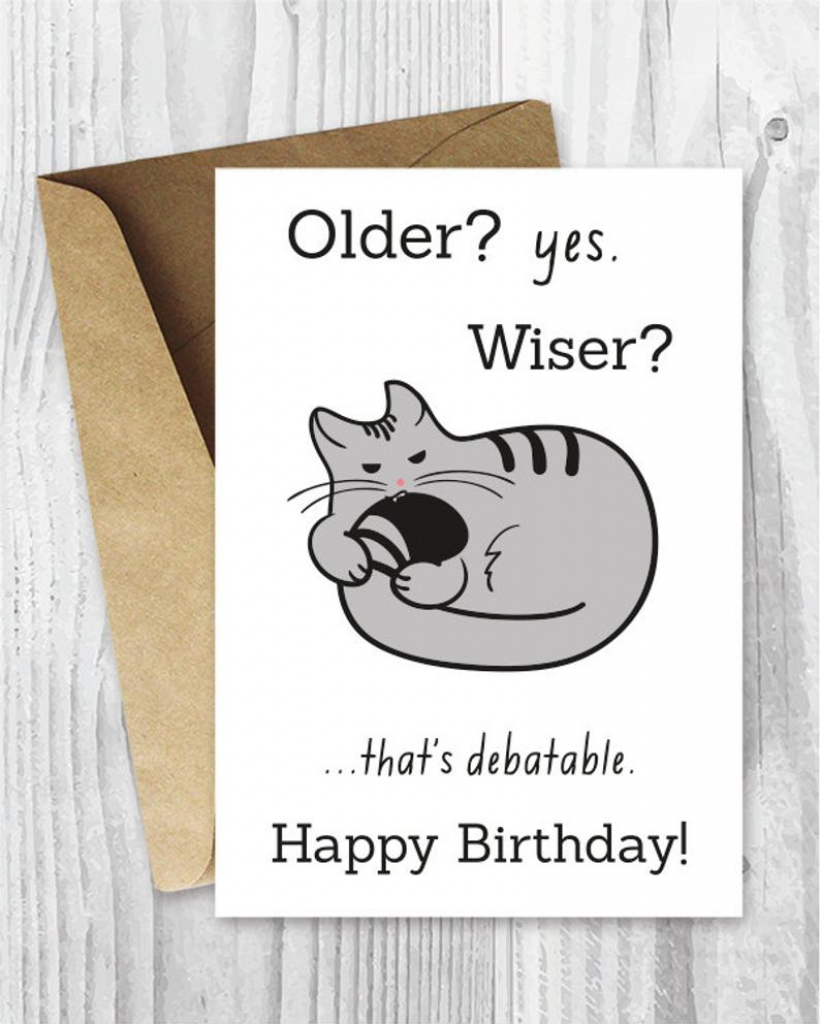 Happy Birthday Cards Funny Printable Birthday Cards Funny | Etsy | Funny Printable Birthday Cards