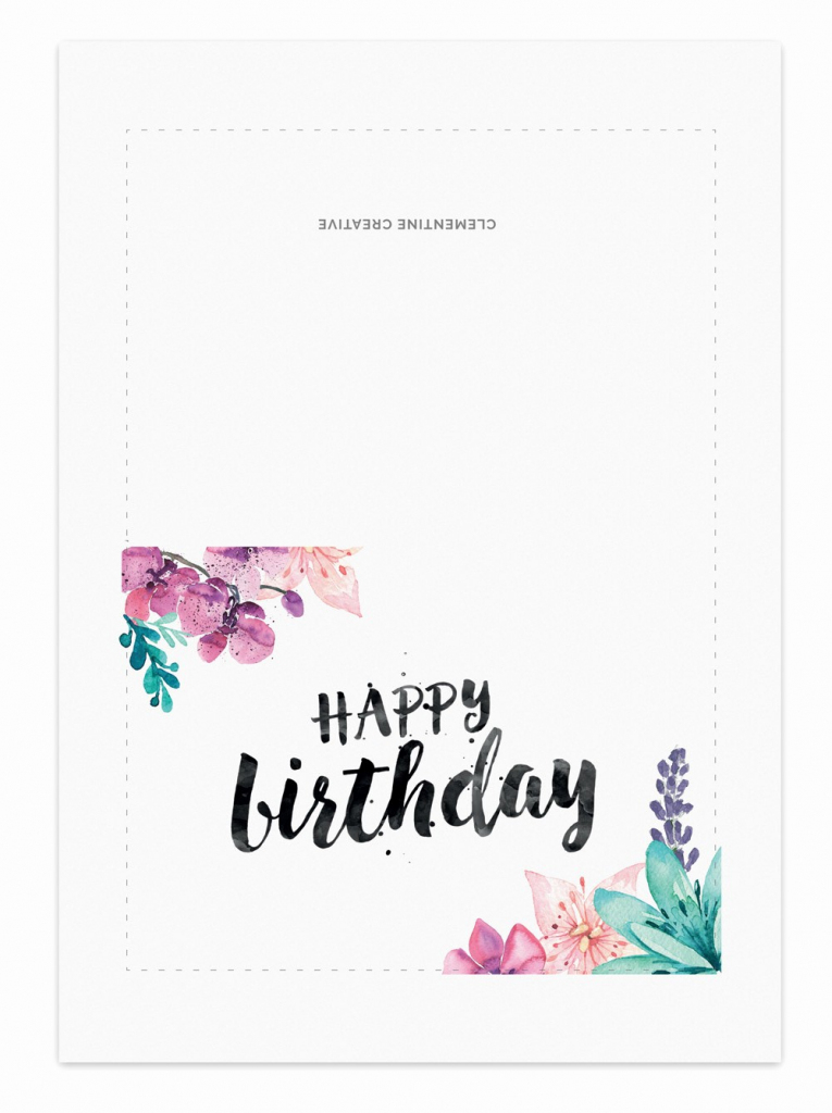 Happy Birthday Certificate Free Printable Beautiful Free Printable | Free Printable Birthday Cards For Her