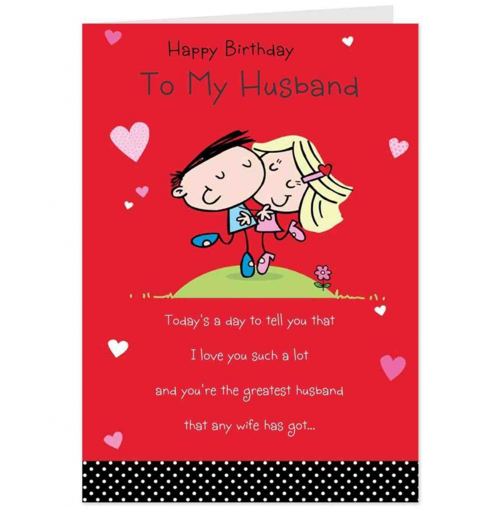Happy Birthday Greetings For Men Birthday Decoration Birthday Card | Printable Birthday Cards For Husband