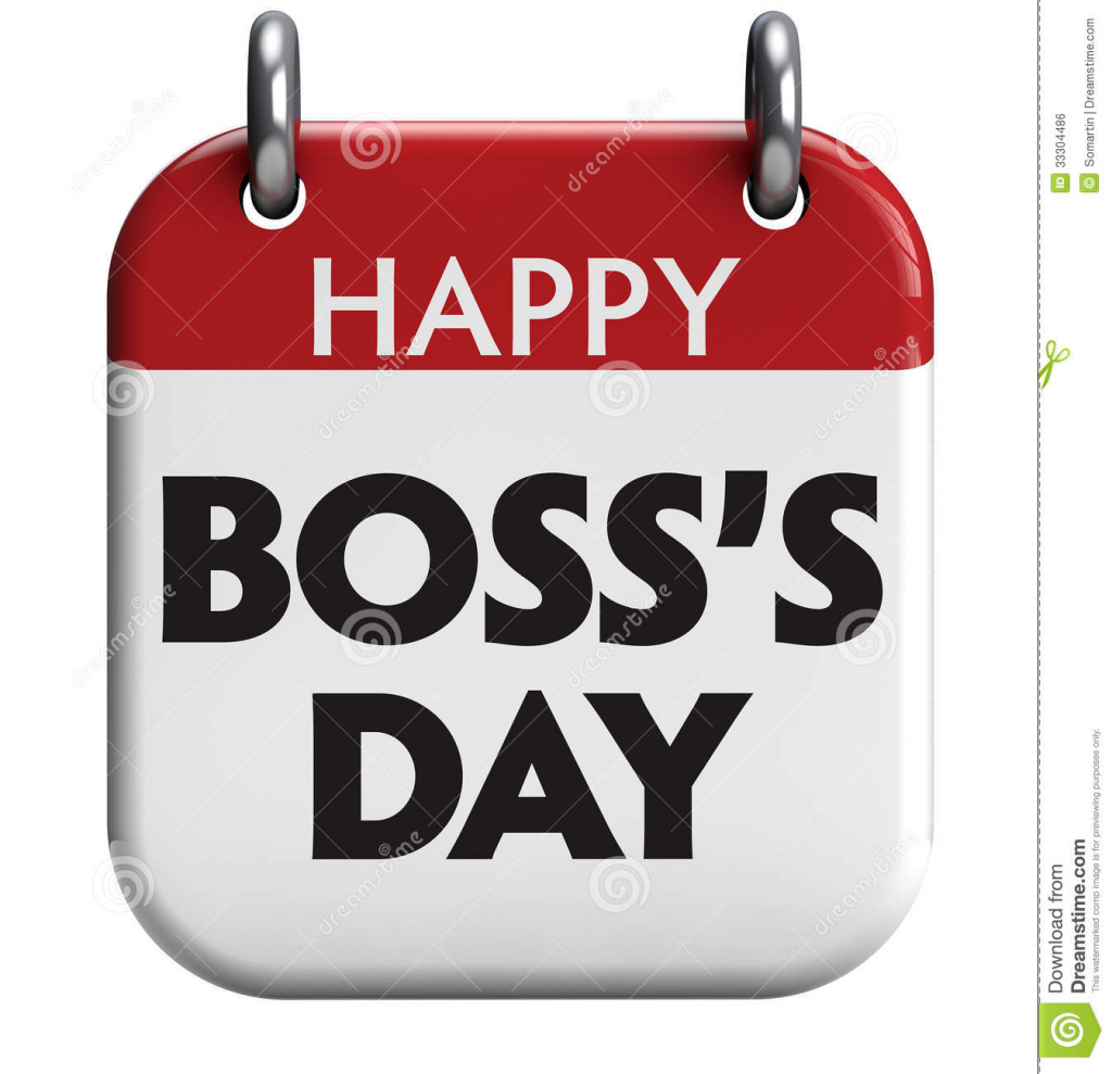 Happy Boss's Day Stock Illustration. Illustration Of Happy - 33304486 | Boss's Day Printable Cards