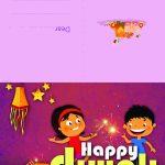 Happy Diwali   Diwali Greeting Card For Kids | Mocomi | Printable Diwali Greeting Cards