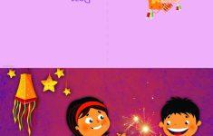 Printable Diwali Greeting Cards
