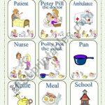 Happy Families   Card Game Part 1   Esl Worksheetlilianac | Happy Families Card Game Printable