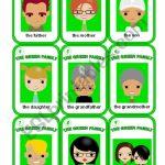 Happy Family Game 2/3   Esl Worksheetmorrisons Eyes | Happy Families Card Game Printable