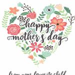 Happy Mothers Day Messages Free Printable Mothers Day Cards | Free Printable Mothers Day Cards To My Wife