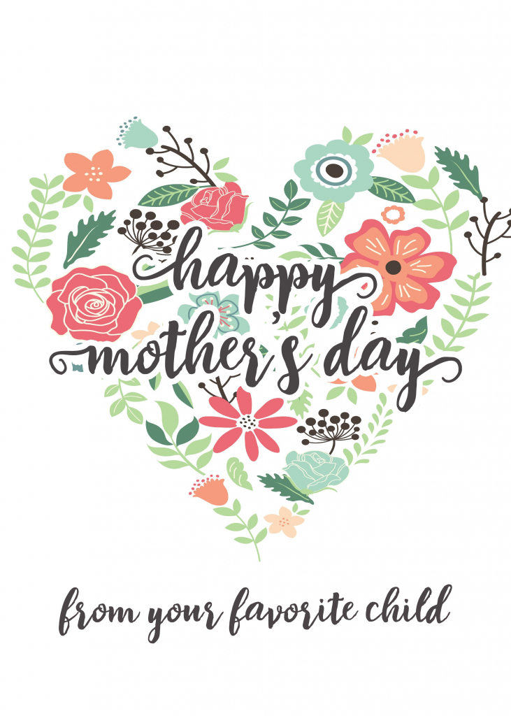 Happy Mothers Day Messages Free Printable Mothers Day Cards | Printable Mothers Day Cards For Friends