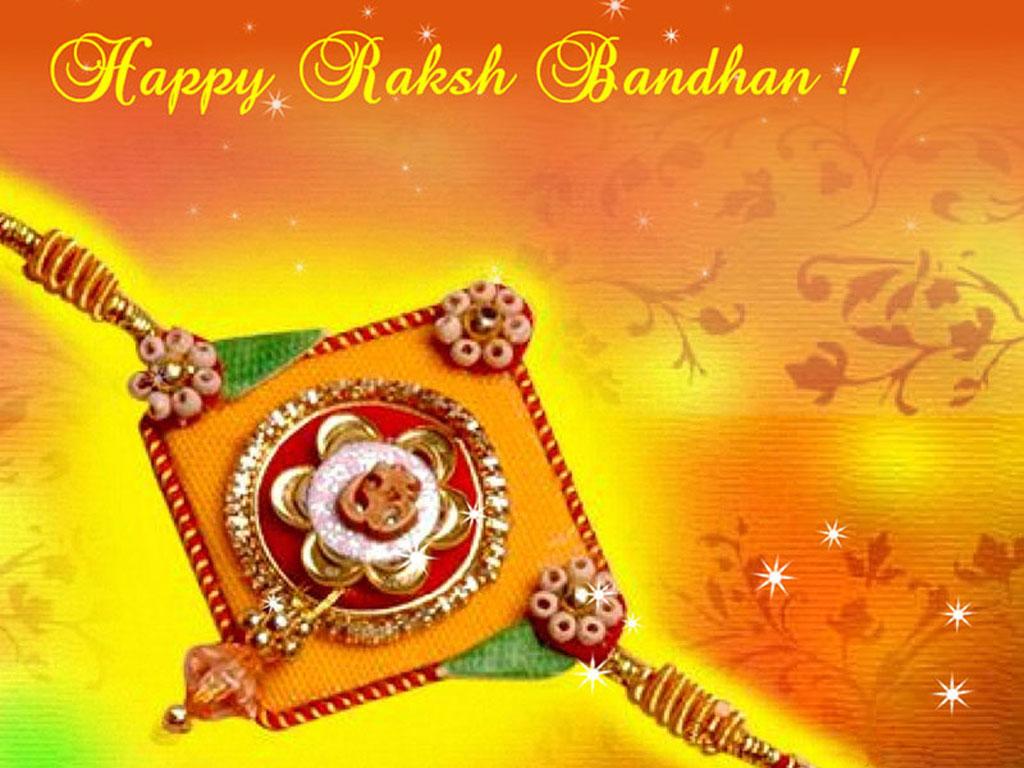 Happy Raksha Bandhan Wallpaper Printable | Coloring | Raksha Bandhan Greeting Cards Printable