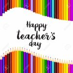 Happy Teacher's Day Greeting Card Template Design Royalty Free | Free Printable Teacher's Day Greeting Cards