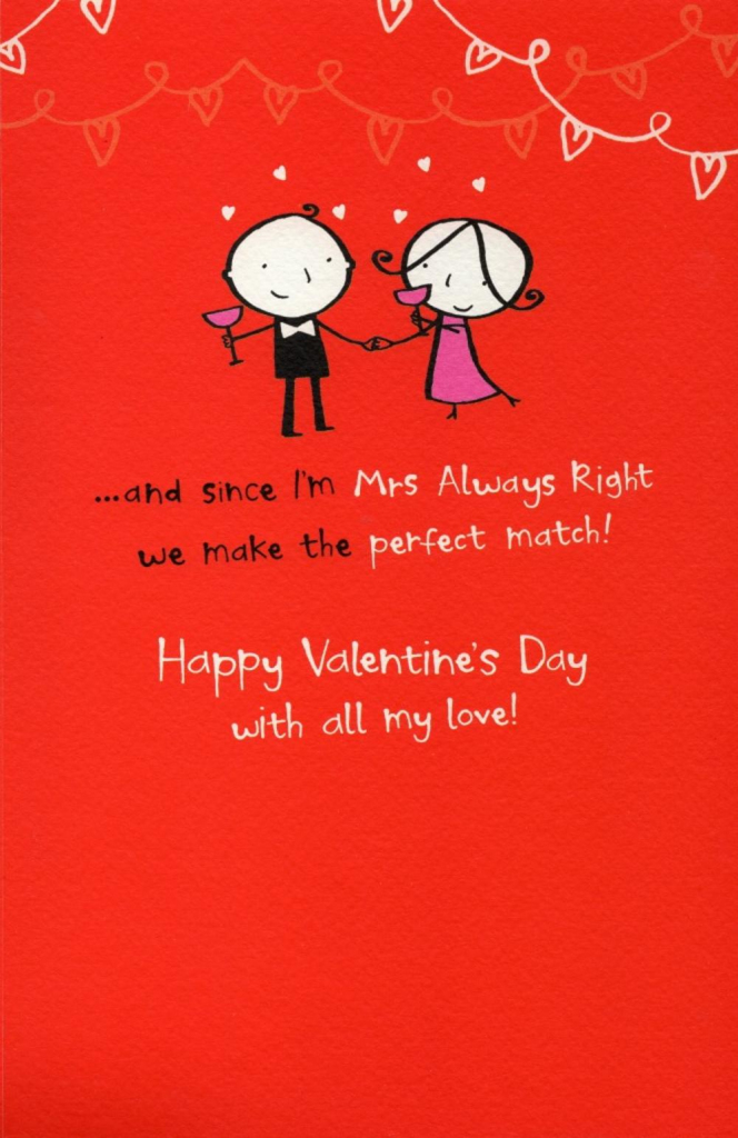 Happy Valentine Day Cards | Valentine's Day Cards For Her Printable