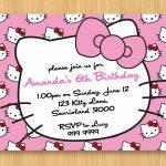 Hello Kitty Birthday Invitations Printable Free – Invitation   Hello Kitty Christmas Cards Free Printables