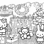 Hello Kitty Christmas Cards Free Printables – Festival Collections   Hello Kitty Christmas Cards Free Printables