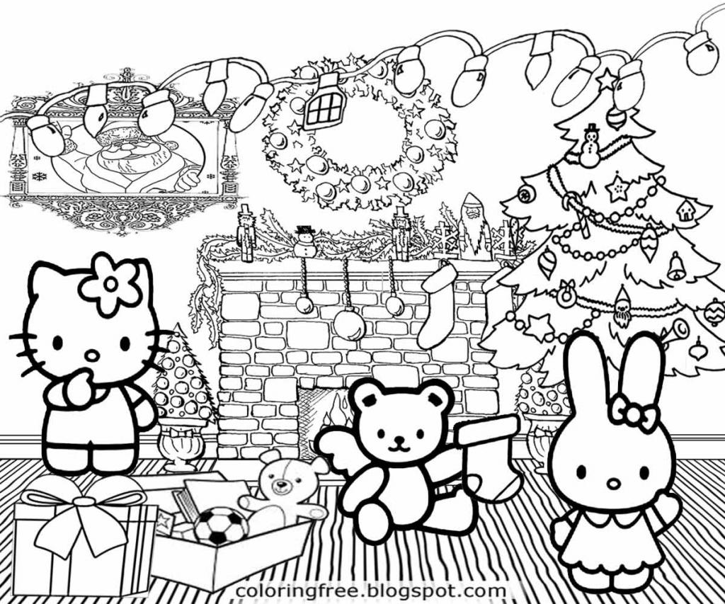 Hello Kitty Christmas Cards Free Printables – Festival Collections | Hello Kitty Christmas Cards Free Printables