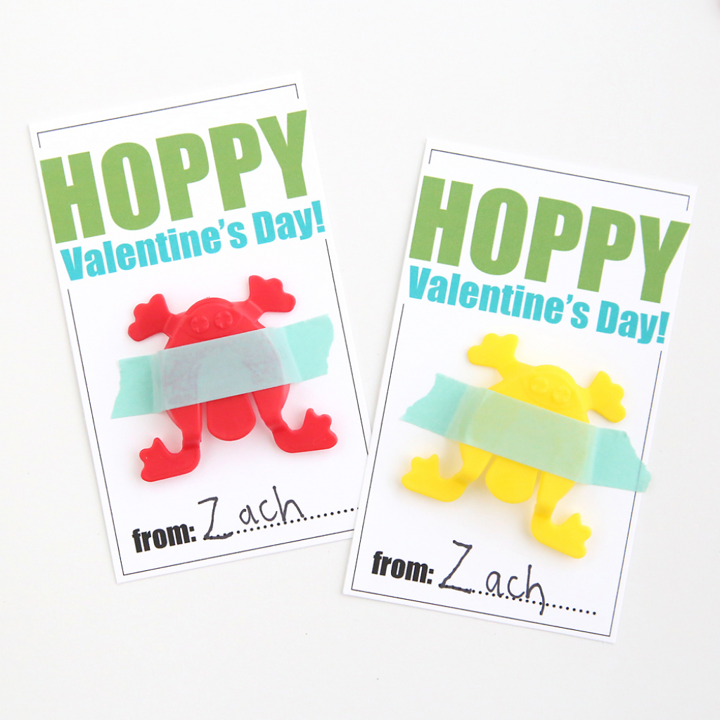 Hopping Frogs Free Printable Valentine's Day Cards - It's Always Autumn | Valentine's Day Card Ideas Printables