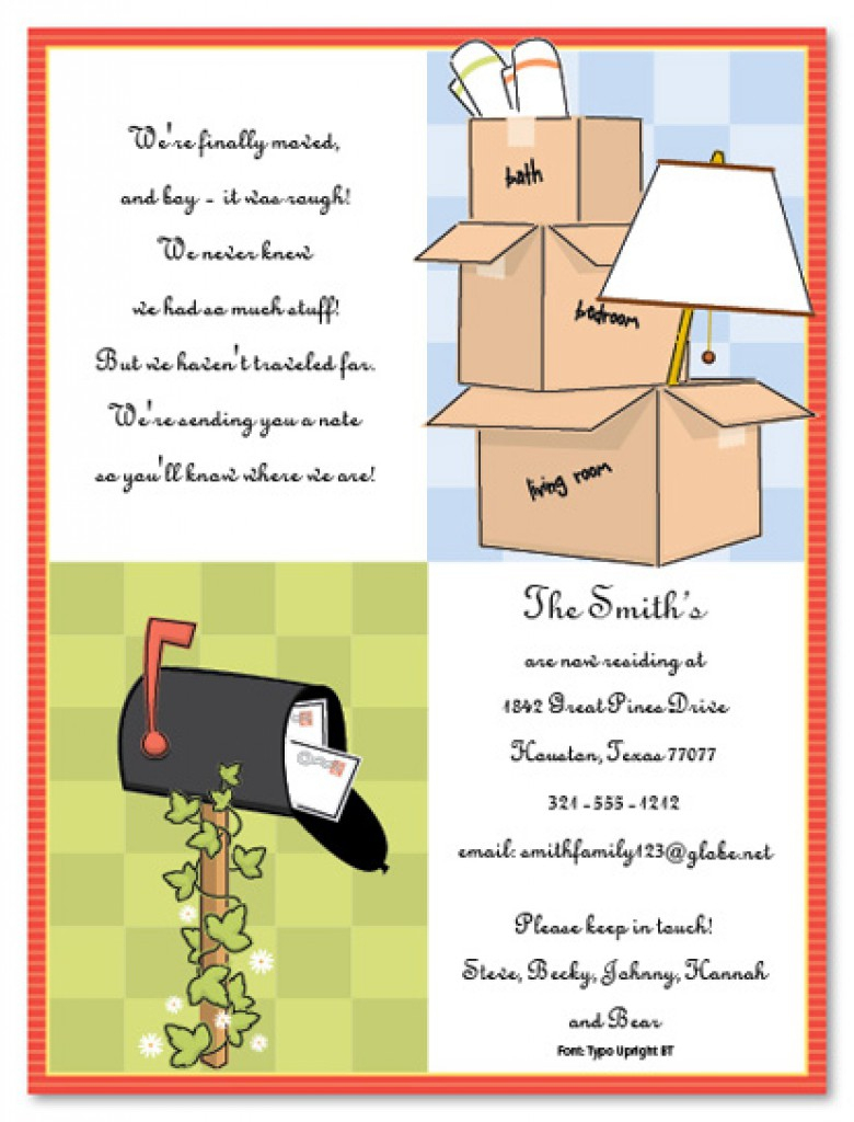 Housewarming Card Printable Free - Kleo.bergdorfbib.co | Free Printable Housewarming Invitations Cards