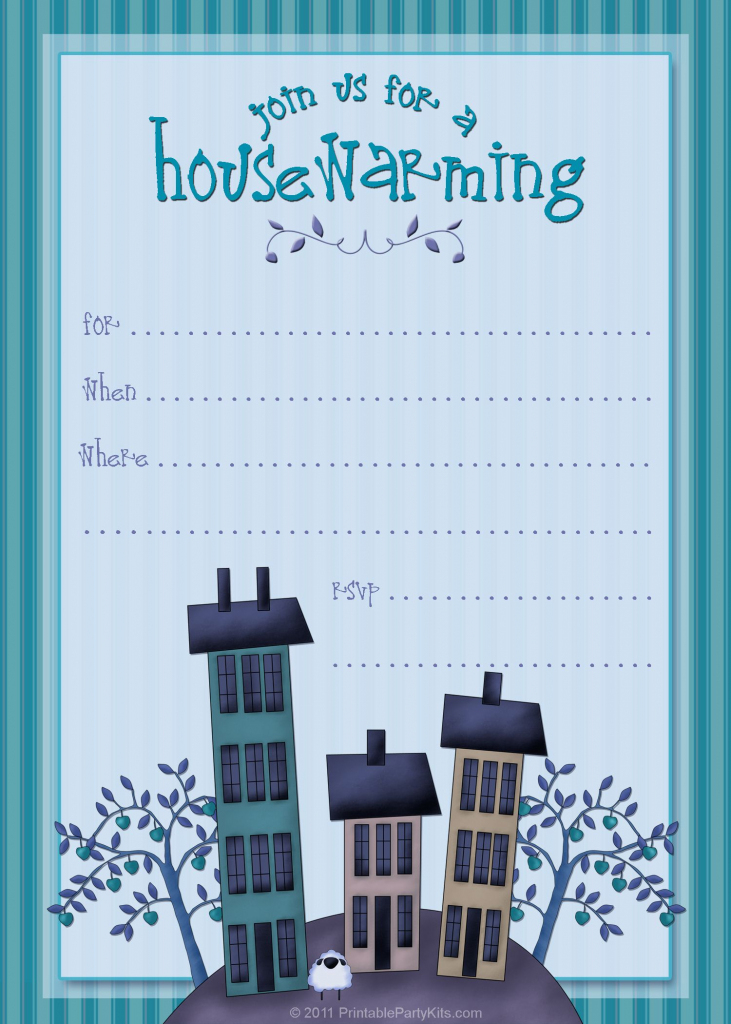 Housewarming Invite Template | Tanveer | Housewarming Party | Free Printable Housewarming Invitations Cards