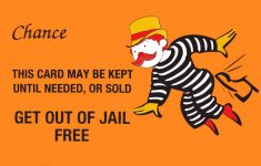 Get Out Of Jail Free Card Printable