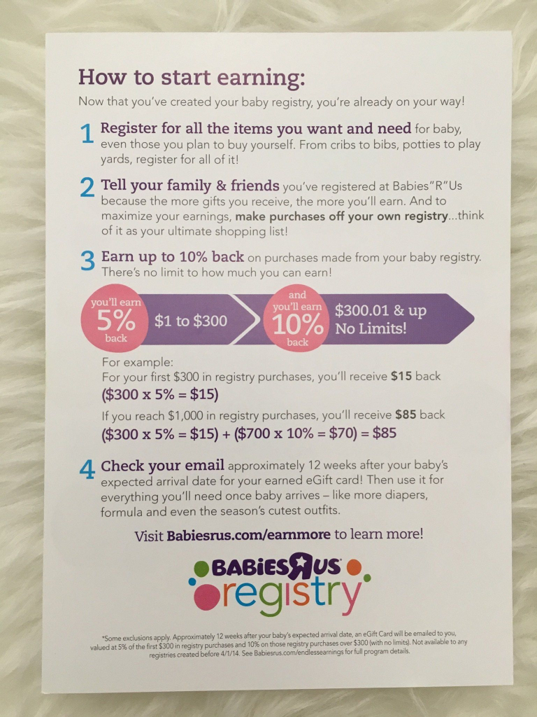 "How To Get The Most From Your Babies ""r"" Us Registry & Save Up To 25 