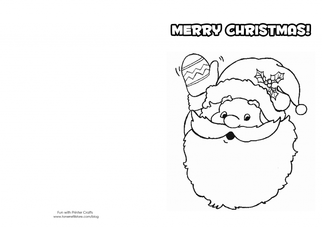 How To Make Printable Christmas Cards For Kids To Color - Fun With | Printable Christmas Cards For Kids