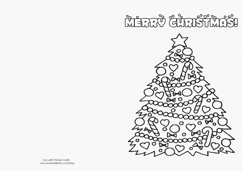 How To Make Printable Christmas Cards For Kids To Color - Fun With | Printable Christmas Cards To Color