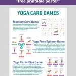 How To Play With Yoga Cards For Kids (Printable Poster)   Kids Yoga | Printable Yoga Cards For Kids