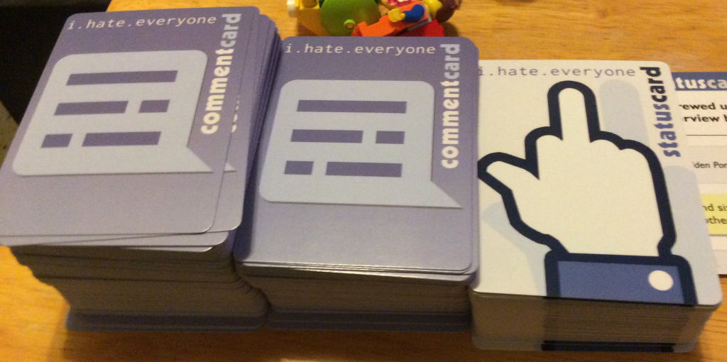 I.hate.everyone | Yaruki Zero Games | Printable Card Games Pdf