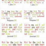 I Hope Everyone Is Having An Awesome Day! We Are Having The Best | Free Printable Bible Verse Cards