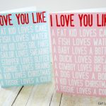 I Love You Like Printable Valentine Cards   Girl Loves Glam | Printable Valentine Cards For Husband