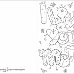 I Love You Mom Card Coloring Page | Free Printable Coloring Pages | Printable I Love You Cards
