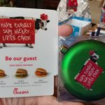 I Received This Chick Fil A Ornament And Gift Card For Christmas | Chick Fil A Printable Gift Card