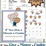 If You Give A Mouse A Cookie Preschool Printable | If You Give A Mouse A Cookie Sequencing Cards Printable